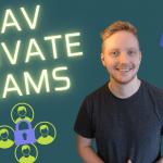 Lav private teams eller kanaler i Teams