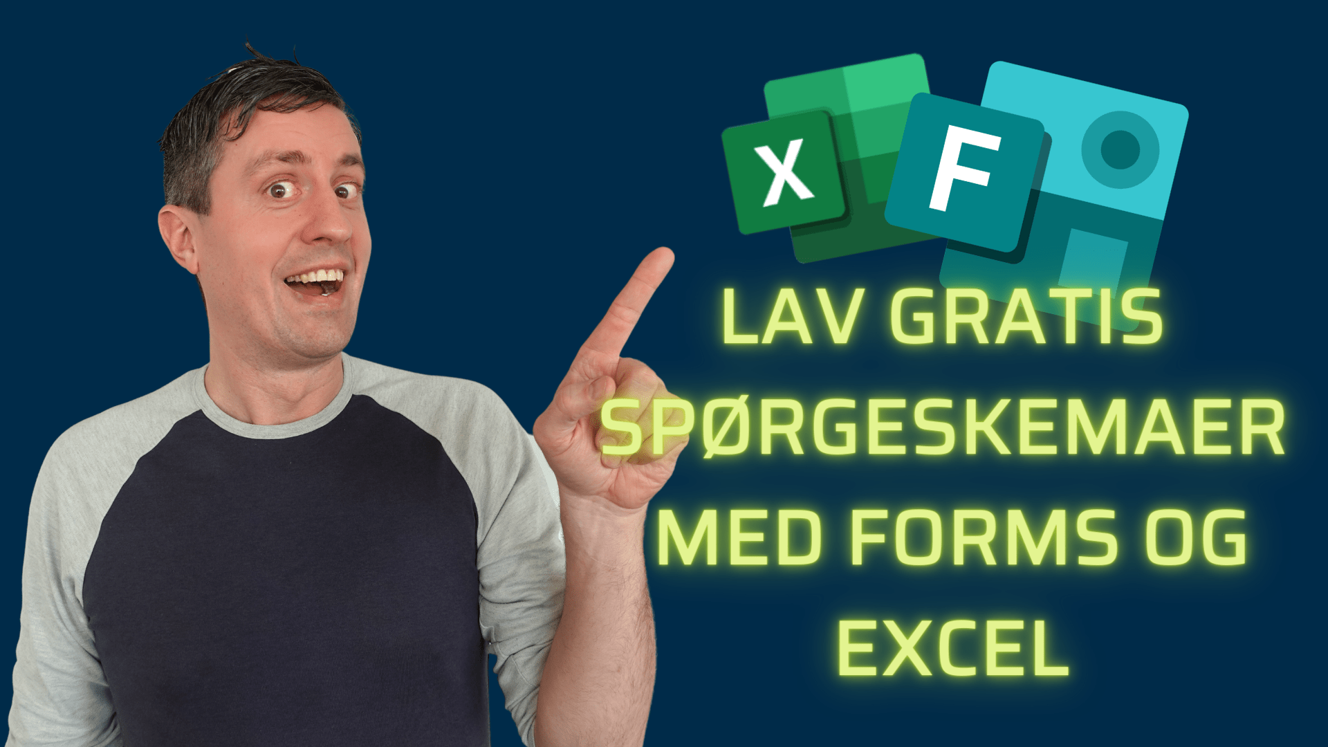 LAV GRATIS SPØRGESKEMAER MED FORMS OG EXCEL