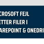 sletning af filer i sharepoint