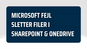sletning af filer i sharepoint