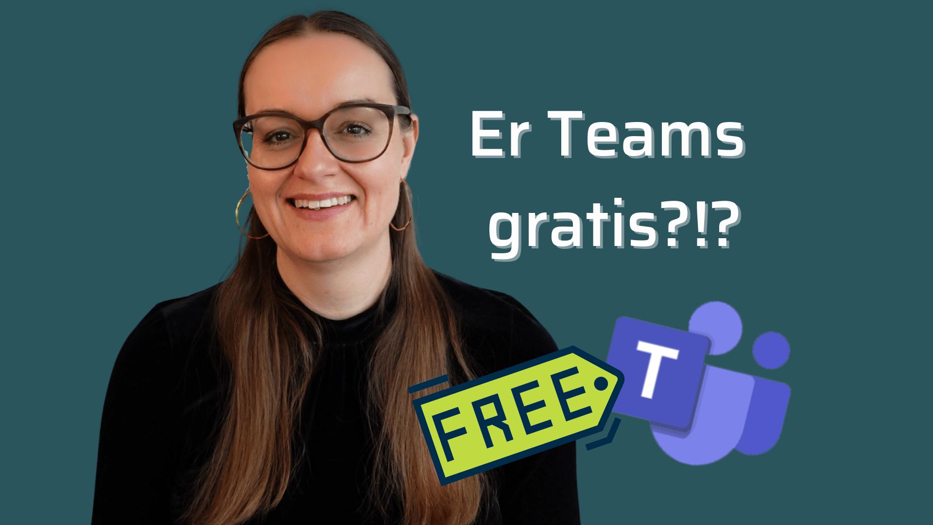 Er Microsoft Teams gratis_