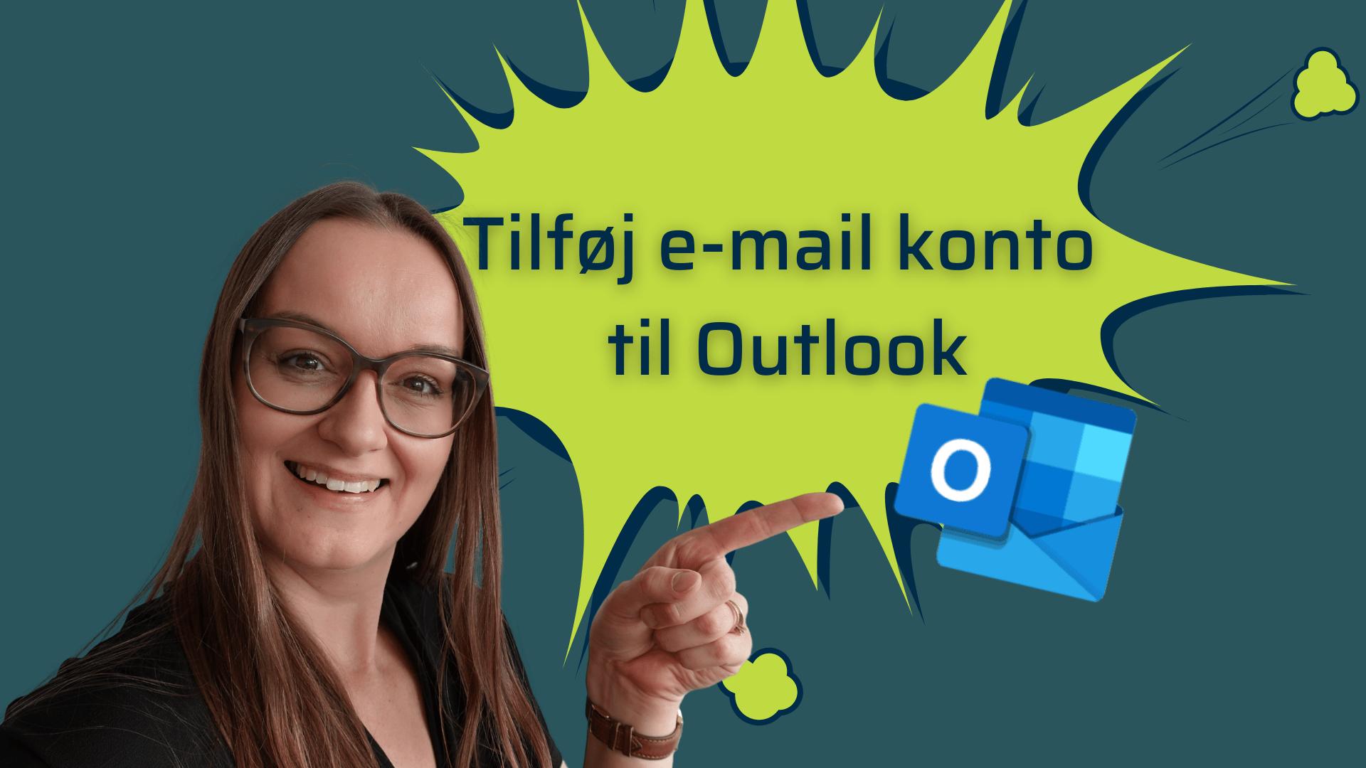 Tilføj e-mail brugere til outlook