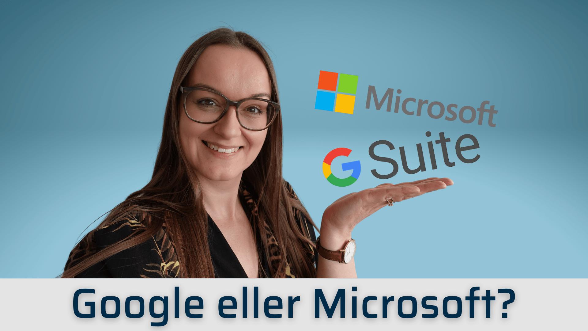 microsoft 365 eller google suite