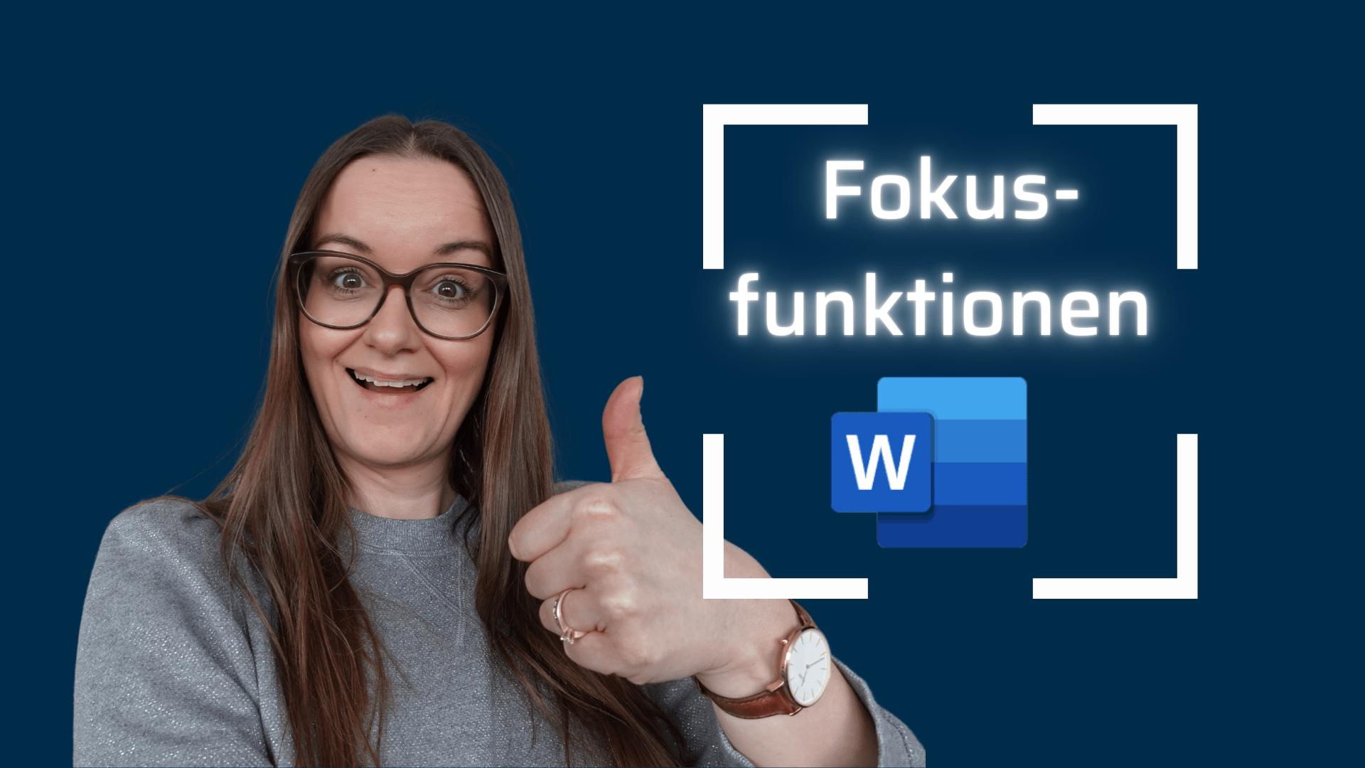 fokusfunktionen i Word