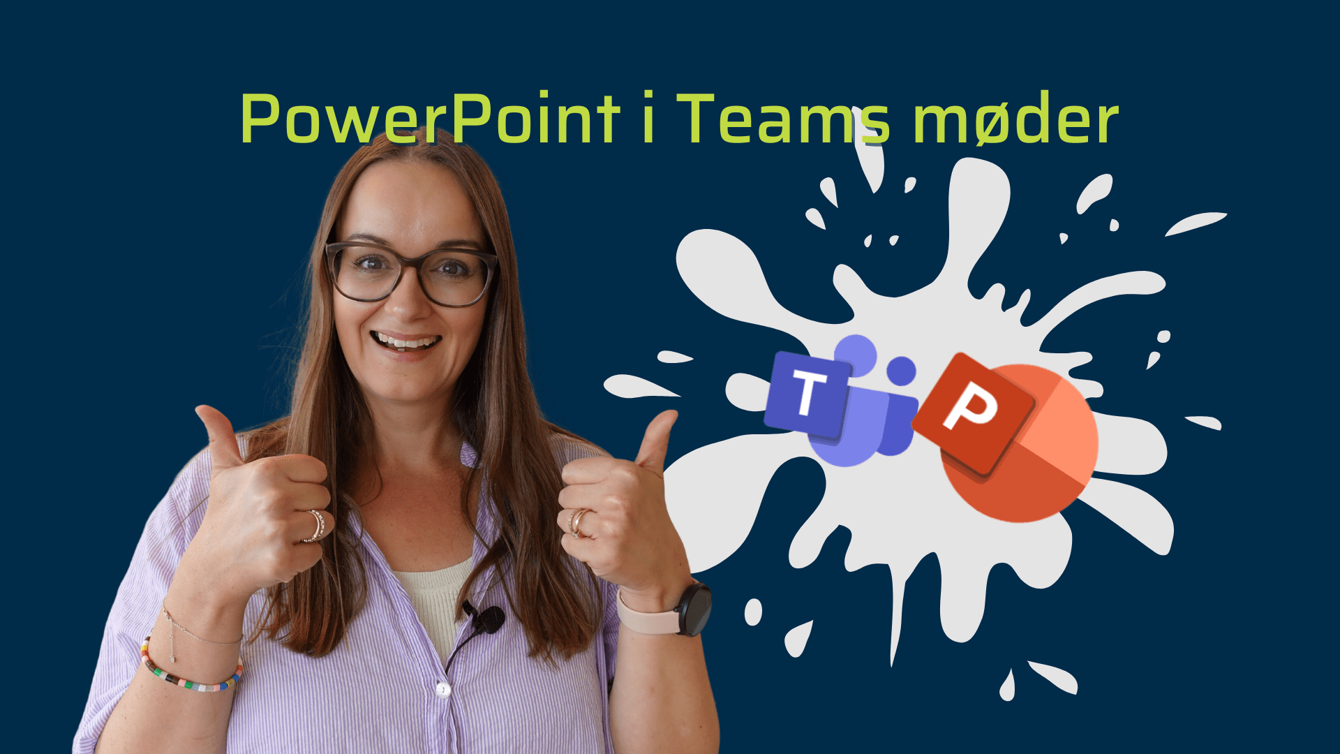 Powerpoint live i Teams